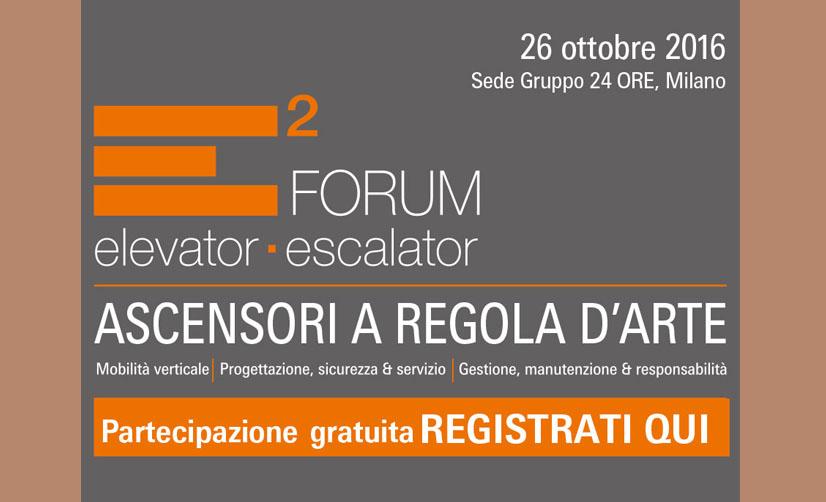 Tecnoedil Verona a E2Forum: l'appuntamento con la community e le novità del settore ascensoristico a Milano il 26 ottobre.