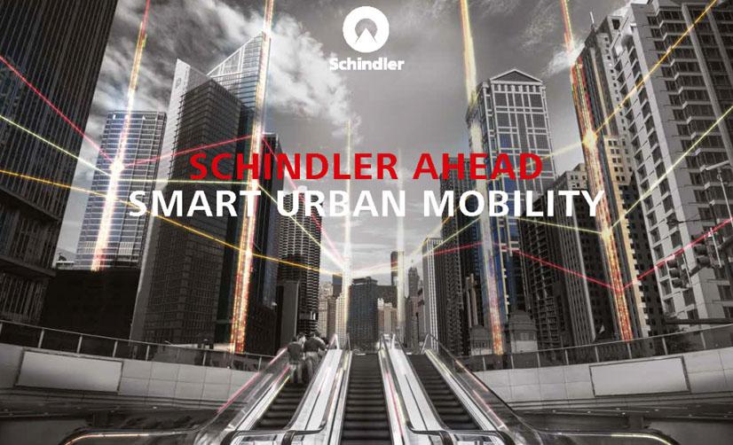 Schindler Ahead, la mobilità urbana intelligente fatta per il presente, pronta per il futuro.