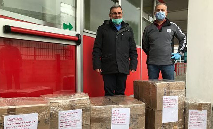 Schindler Italia – Dona 4.000 Mascherine FFP2 a Humanitas Rozzano