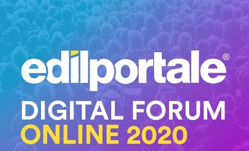 Summit Online – EDILPORTALE DIGITAL FORUM | 27 Ottobre 2020